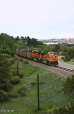 Southbound BNSF Loaded Coal Train